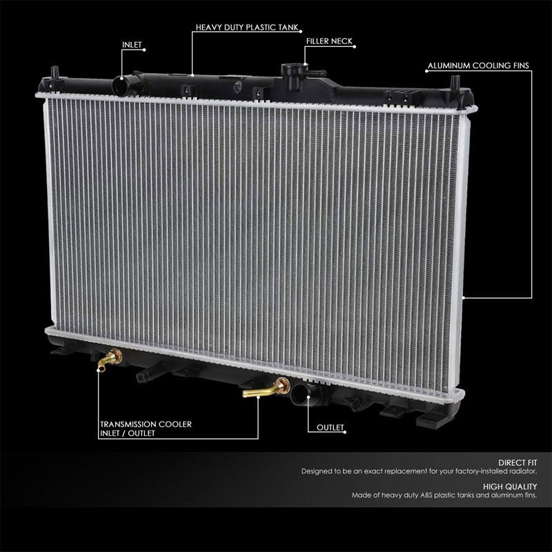 Lightweight OE Style Aluminum Core Radiator For 07-11 Honda Element AT-Performance-BuildFastCar