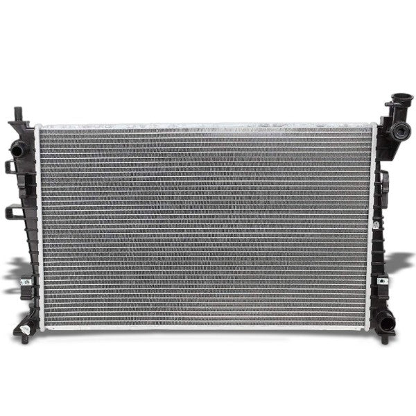 1-Row Black/Metallic Aluminum OEM Radiator Kit For 08-11 Ford Focus 2.0L-Performance-BuildFastCar
