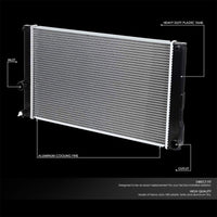 1-Row OE Style Direct Replacement Aluminum Radiator For 11-16 Lexus CT200h-Cooling Systems-BuildFastCar-BFC-RADOE-13119
