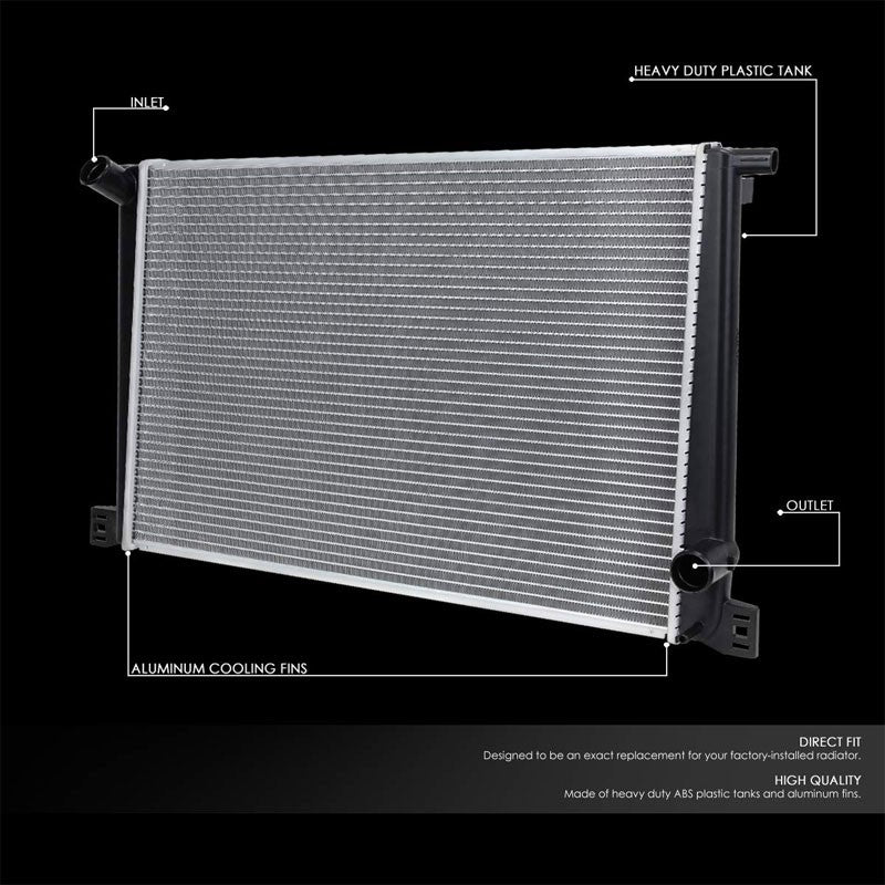 Lightweight OE Style Aluminum Core Radiator For 07-15 Mini Cooper Base NA AT/MT-Performance-BuildFastCar