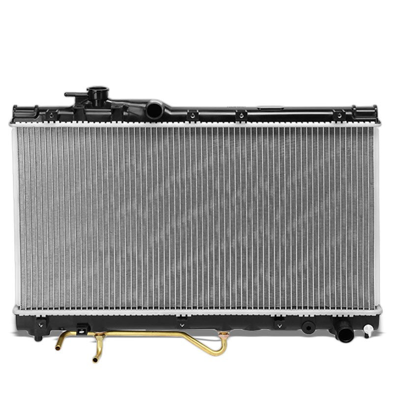 1-Row OE Style Direct Replacement Aluminum Radiator For 94-99 Toyota Celica GT-Cooling Systems-BuildFastCar-BFC-RADOE-1575