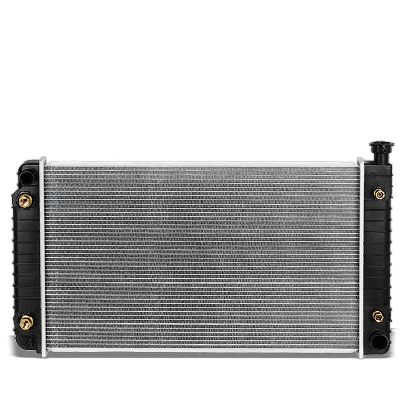 1-Row OE Style Direct Replacement Aluminum Radiator For 96-99 GMC K1500 4.3 5.0-Cooling Systems-BuildFastCar-BFC-RADOE-1790
