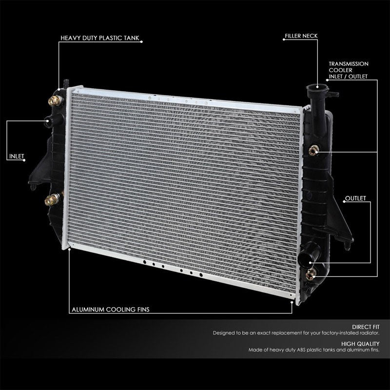 Lightweight OE Style Aluminum Core Radiator For 96-05 Chevrolet Astro AT-Performance-BuildFastCar