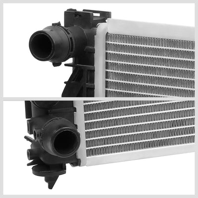 OE Style Aluminum Core Replacement Cooling Radiator For 97-01 Audi A4 1.8 / 2.8