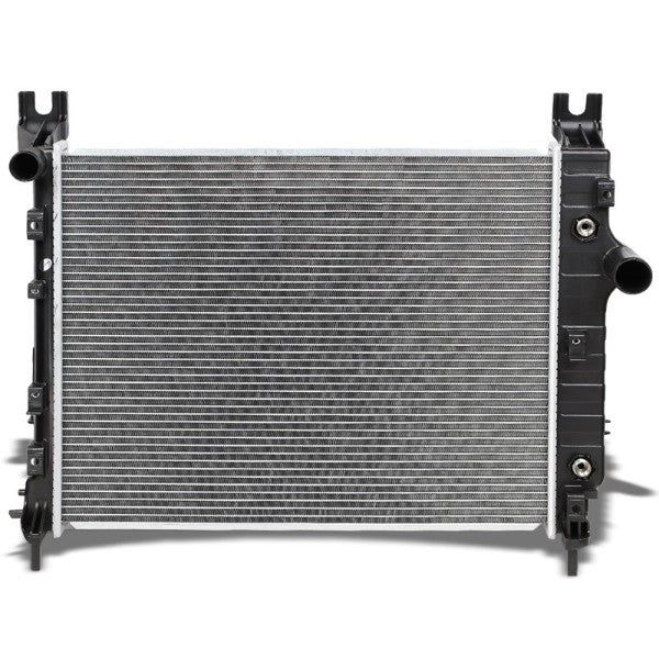 2-Row Black/Metallic Aluminum OEM Radiator Kit For 00-04 Dodge Dakota AT-Performance-BuildFastCar