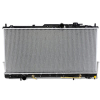 High Flow OE Style Aluminum Core Radiator For 00-05 Mitsubishi Eclipse L4 AT-Performance-BuildFastCar