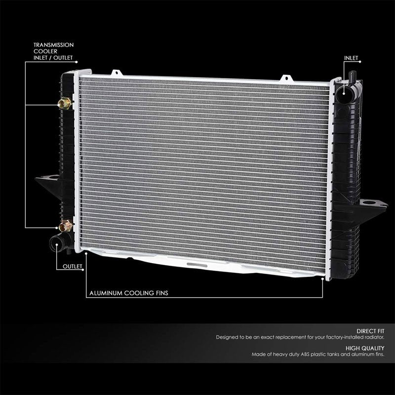 1-Row OE Style Direct Replacement Aluminum Radiator For 99-04 Volvo C70 2.3 2.4-Cooling Systems-BuildFastCar-BFC-RADOE-2424