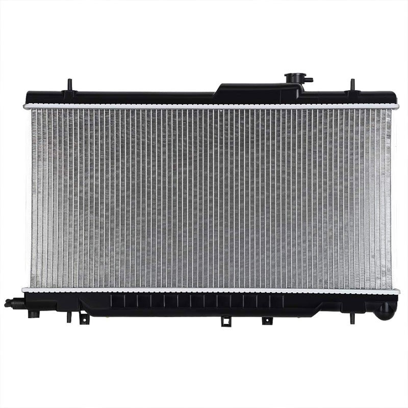 1-Row OE Style Direct Replacement Aluminum Radiator For 02-07 Subaru Impreza 2.5-Cooling Systems-BuildFastCar-BFC-RADOE-2464