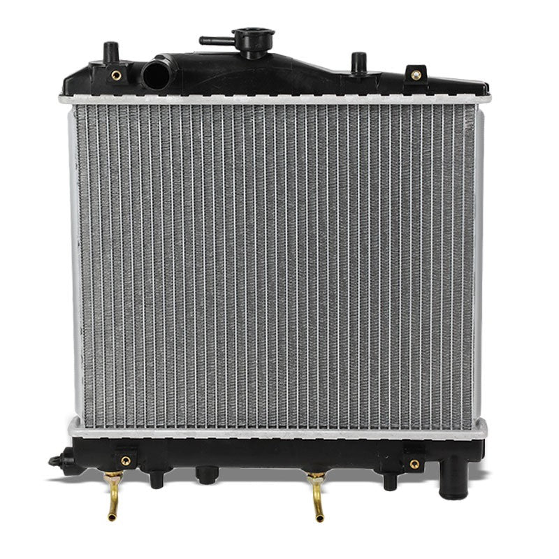 1-Row OE Style Direct Replacement Aluminum Radiator For 88-93 Ford Festiva-Cooling Systems-BuildFastCar-BFC-RADOE-263