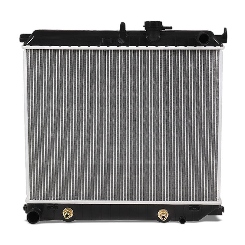 1-Row OE Style Direct Replacement Aluminum Radiator For 04-12 Colorado/Canyon-Cooling Systems-BuildFastCar-BFC-RADOE-2707