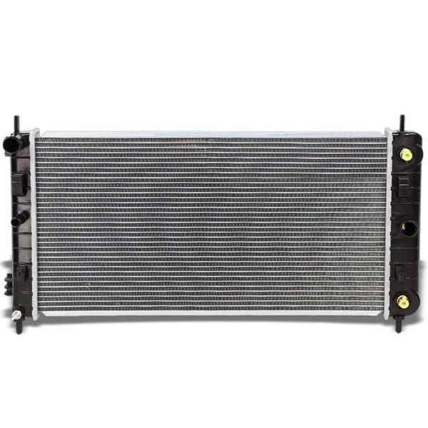 1-Row Black/Metallic Aluminum OEM Radiator Kit For 04-06 Chevrolet Malibu AT-Performance-BuildFastCar