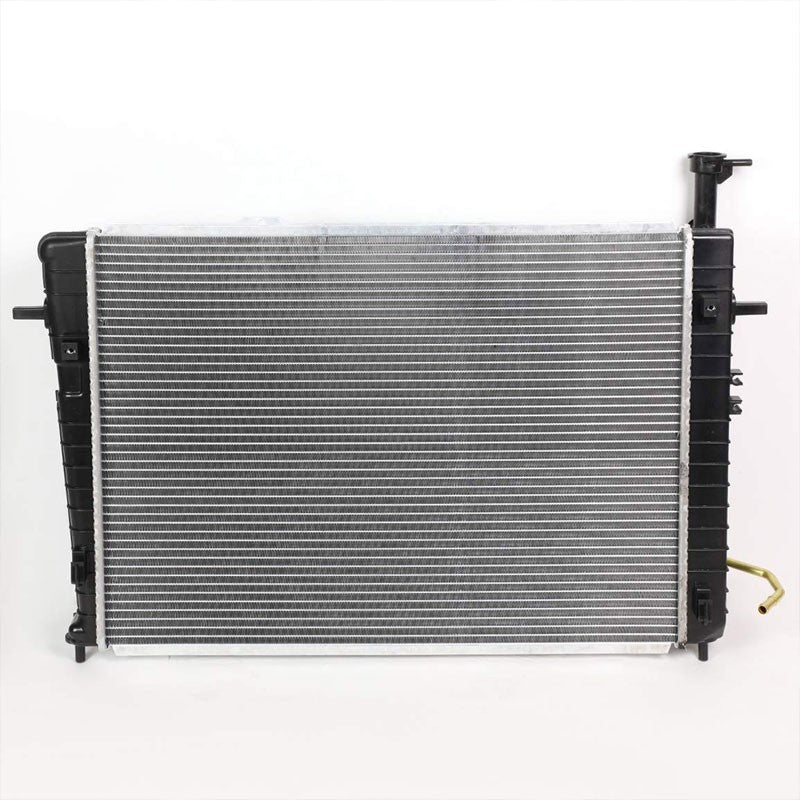 1-Row OE Style Direct Replacement Aluminum Radiator For 05-10 Sportage 2.0L/2.7L-Cooling Systems-BuildFastCar-BFC-RADOE-2785
