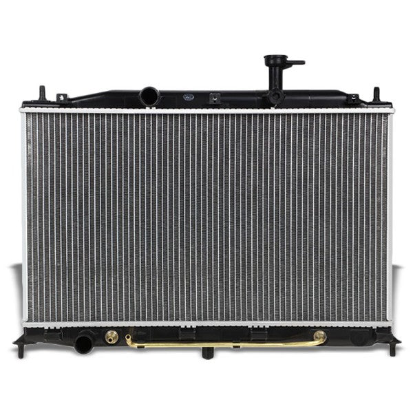 1-Row Black/Metallic Aluminum OEM Radiator Kit For 06-12 Dodge Attitude 1.4/1.6L-Performance-BuildFastCar