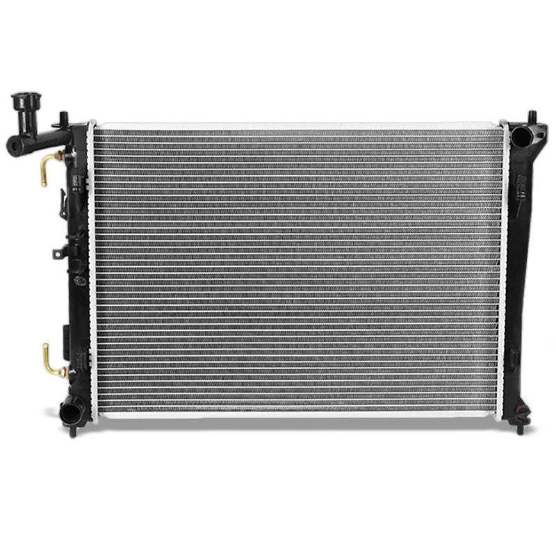 OE Style Aluminum Core Radiator For 07-12 Hyundai Elantra 1.8L/2.0L DOHC AT-Performance-BuildFastCar
