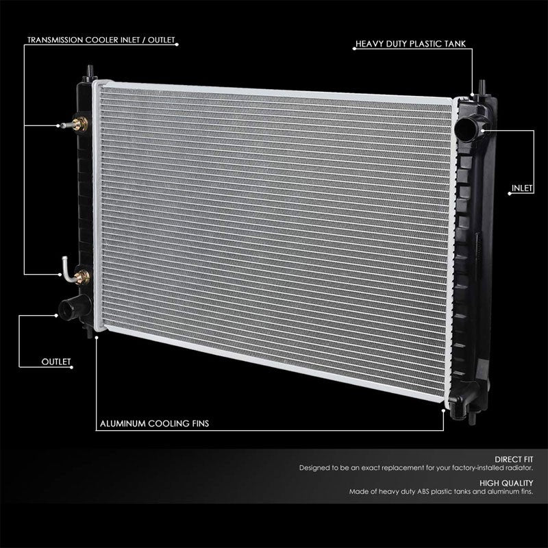 Lightweight OE Style Aluminum Core Radiator For 07-18 Nissan Altima AT-Performance-BuildFastCar