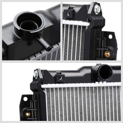 2-Row OE Style Direct Replacement Aluminum Radiator For 07-19 Toyota Tundra V8-Cooling Systems-BuildFastCar-BFC-RADOE-2994