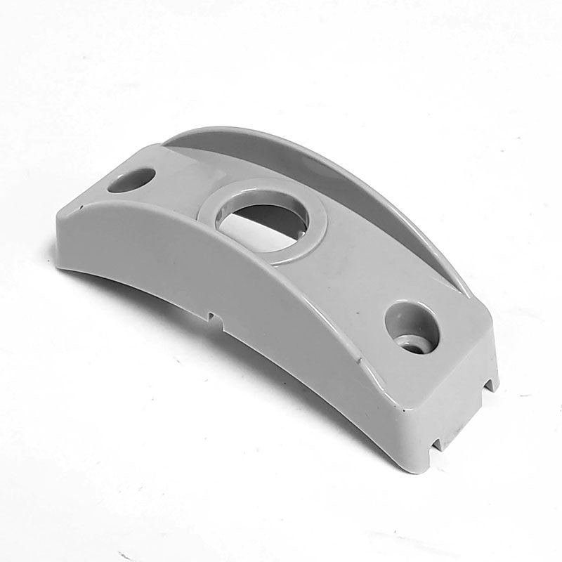 2 Pcs Peterson B176-13 Gray Polymer Side Marker Surface Mount For Curved Surface-Trailer Light Parts-BuildFastCar-BFC-TTP-SMSM-PET-176-13-X2