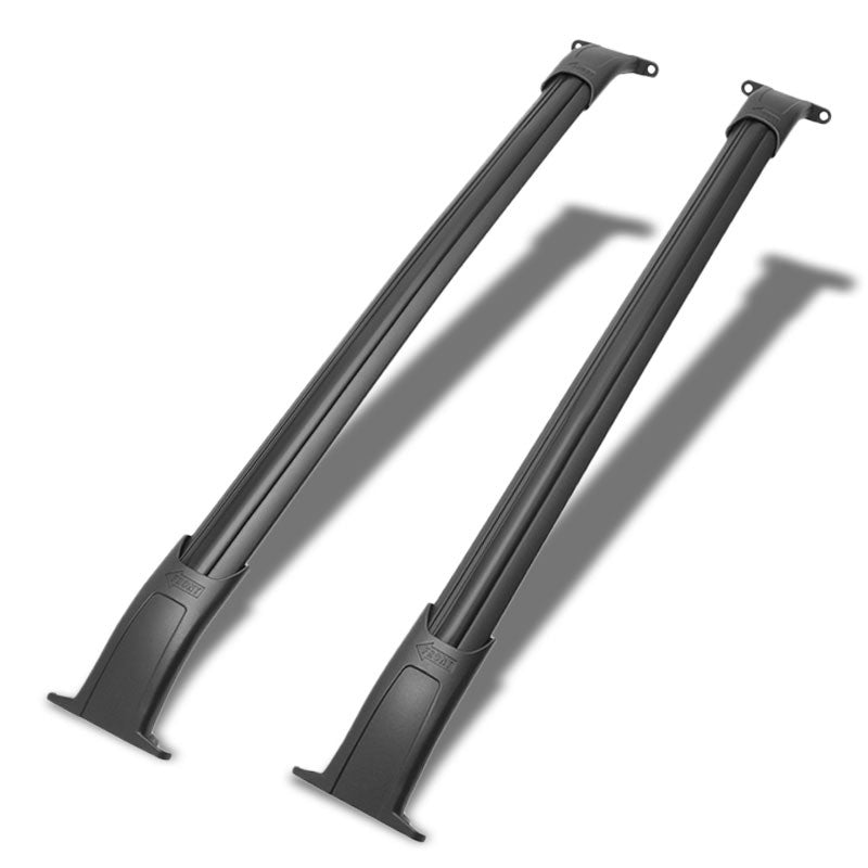 Black Aluminum Bar OE Style Bolt-On Top Roof Rack Rail Cross Bar For 15-18 Tahoe-Exterior-BuildFastCar