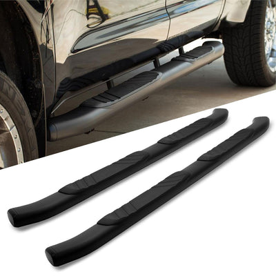 "Black 5"" Wide Step Running Board For 99-00 Ford F-250 Extended/SuperCab Cab-Running Boards/Steps-BuildFastCar"