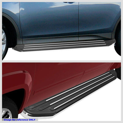 "Silver Ridgeline Flat 5.5"" Wide Step Pads Running Board For 16-18 Honda Pilot-Running Boards/Steps-BuildFastCar"