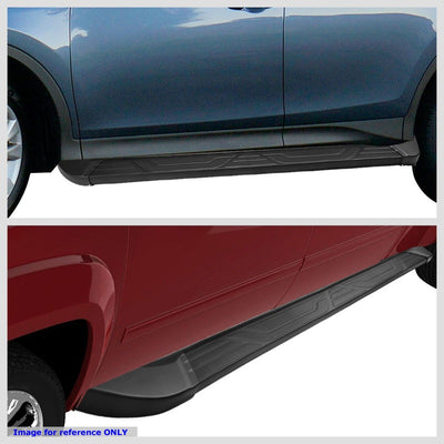 "Silver Aluminum OE 5"" Wide Step Running Board For 01-15 Toyota Tacoma Crew Cab-Running Boards/Steps-BuildFastCar"