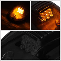 5PCs Smoke Lens Amber LED Cab Roof Top Marker Light Running Lamp For 02-08 Ram-Exterior-BuildFastCar