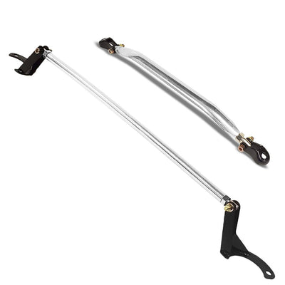 Manzo Front Upper/Rear Lower Stabilizer Strut Bar Tower Brace For 92-01 Prelude