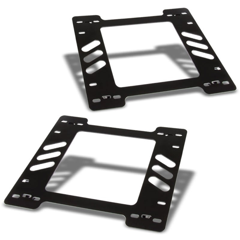 2x Steel Racing Seat Base Mount Bracket For Chevy 78-88 Monte Carlo Coupe V6/V8-Seats-BuildFastCar