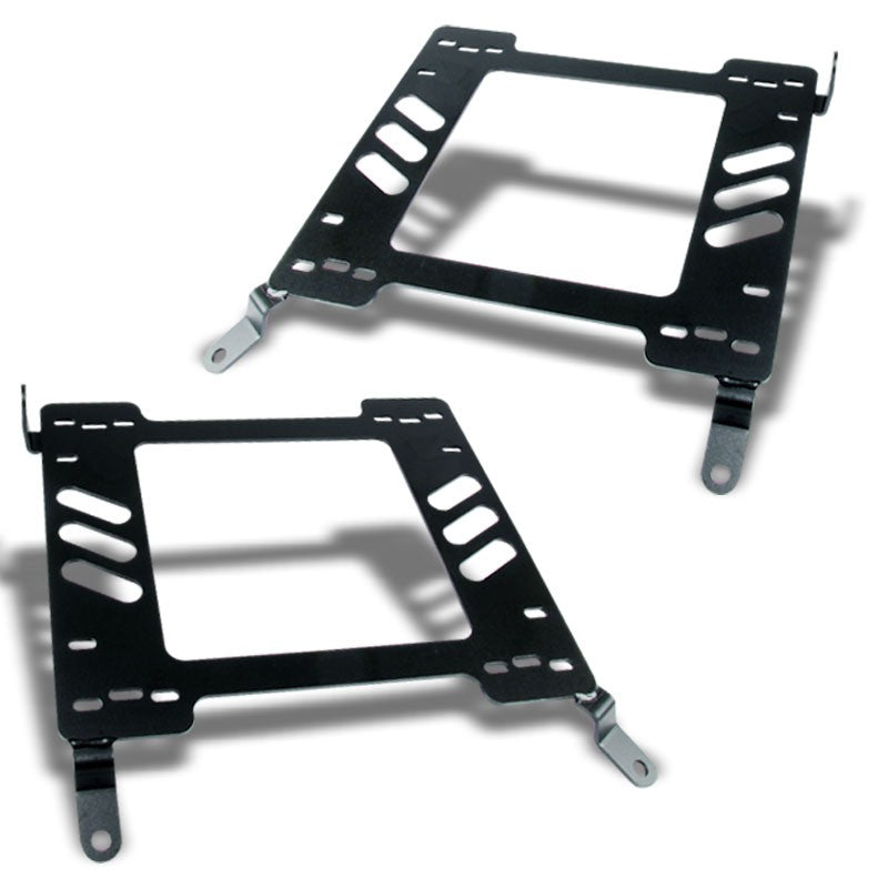 2x Steel Racing Seat Base Mounting Bracket For Mit 00-05 Eclipse 3G 2.4L/3.0L V6-Seats-BuildFastCar