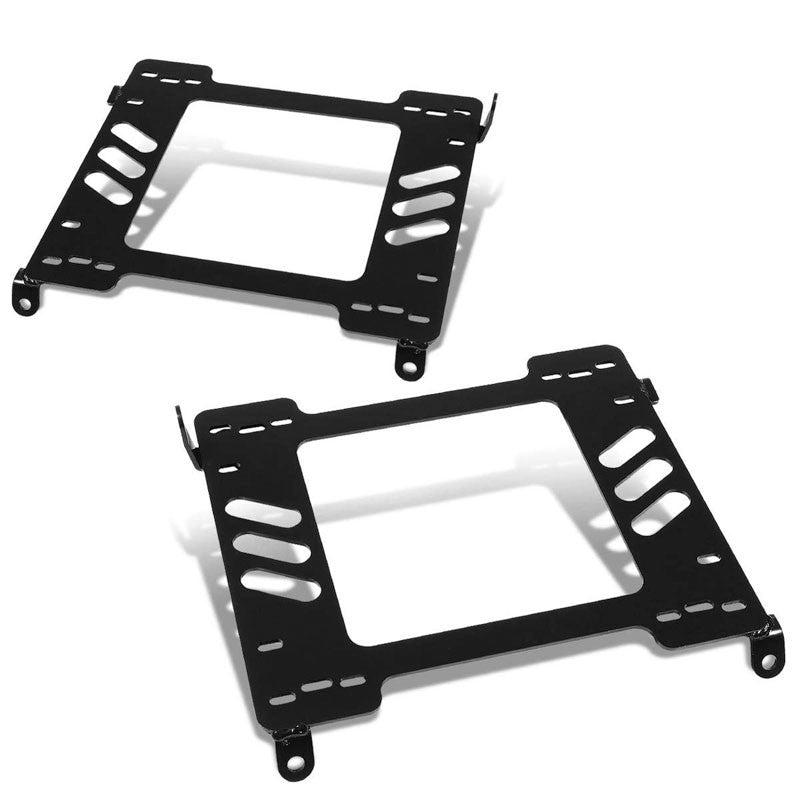 2x Mild Steel Racing Seat Base Mount Bracket Adapter For 94-01 Integra DB/DC-Seats-BuildFastCar