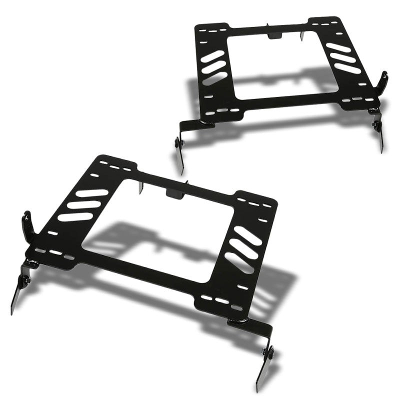 2x Steel Racing Seat Base Mount Bracket Adapter For VW 93-98 Golf MK3/Jetta 1H-Seats-BuildFastCar