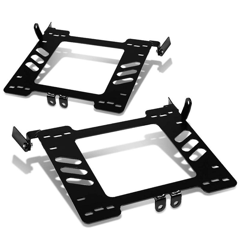 2x Steel Racing Seat Base Mounting Bracket For VW 99-05 Beetle/Golf MK4/Jetta 1J-Seats-BuildFastCar