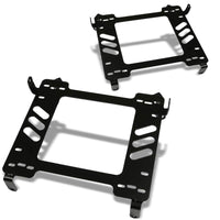 2x Steel Racing Seat Base Mounting Bracket For Honda 06-11 Civic FA/FG1/FG2/SI-Seats-BuildFastCar