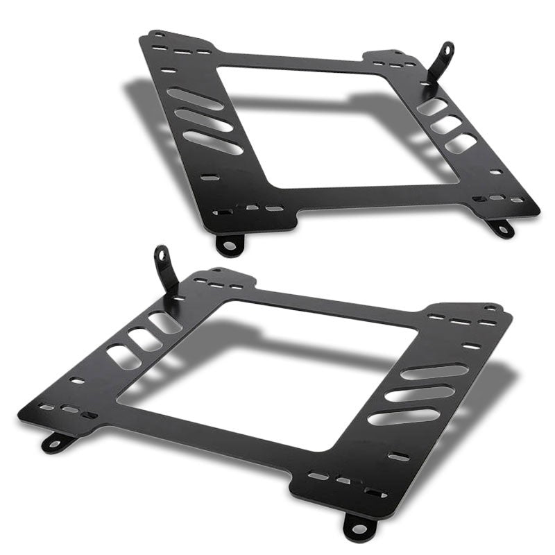 2x Mild Steel Racing Seat Base Mounting Bracket For 13-18 BRZ/FR-S GT86 H4/86-Seats-BuildFastCar