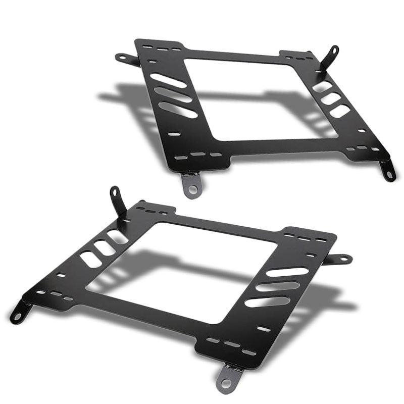 2x Mild Steel Racing Seat Base Mounting Bracket For 00-05 Celica ZZT230/231-Seats-BuildFastCar