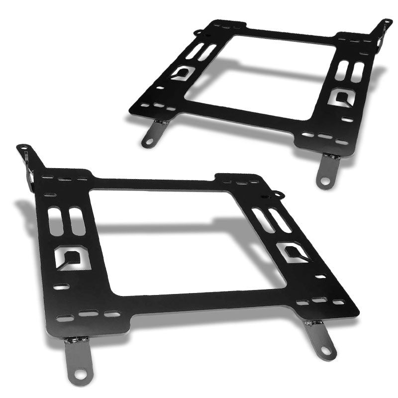 2x Mild Steel Racing Seat Base Mounting Bracket Adapter For 11-18 Ford Focus-Seats-BuildFastCar
