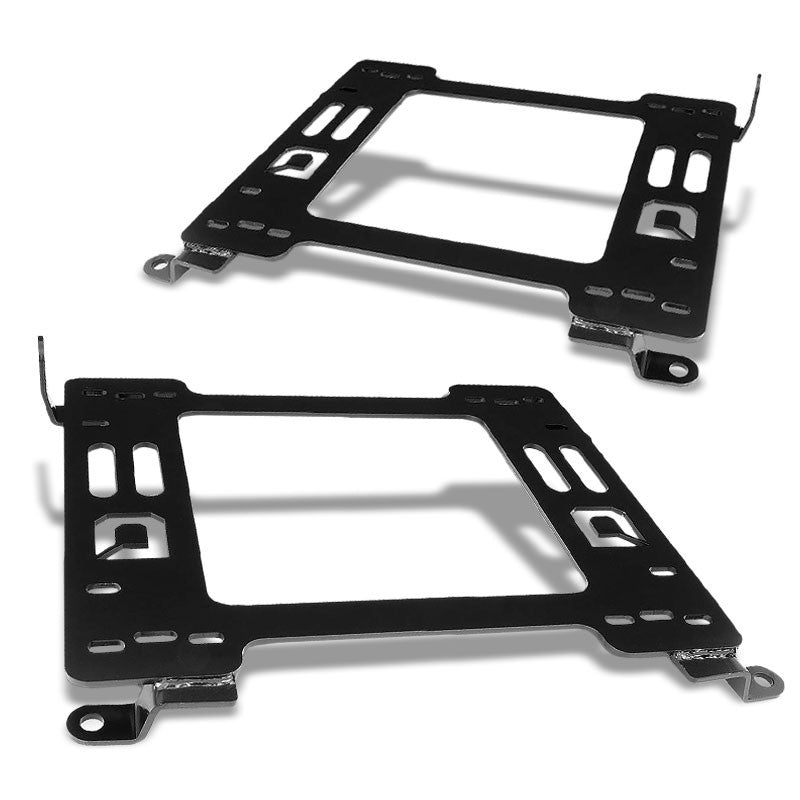 2x Steel Racing Seat Base Mounting Bracket Adapter For 06-17 Volkswagen Beetle-Seats-BuildFastCar