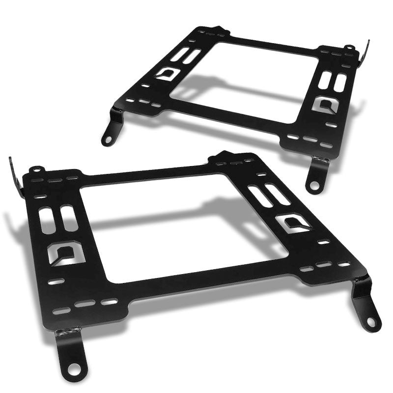 2x Steel Racing Seat Base Mounting Bracket Adapter For 09-19 Nissan 370Z-Seats-BuildFastCar