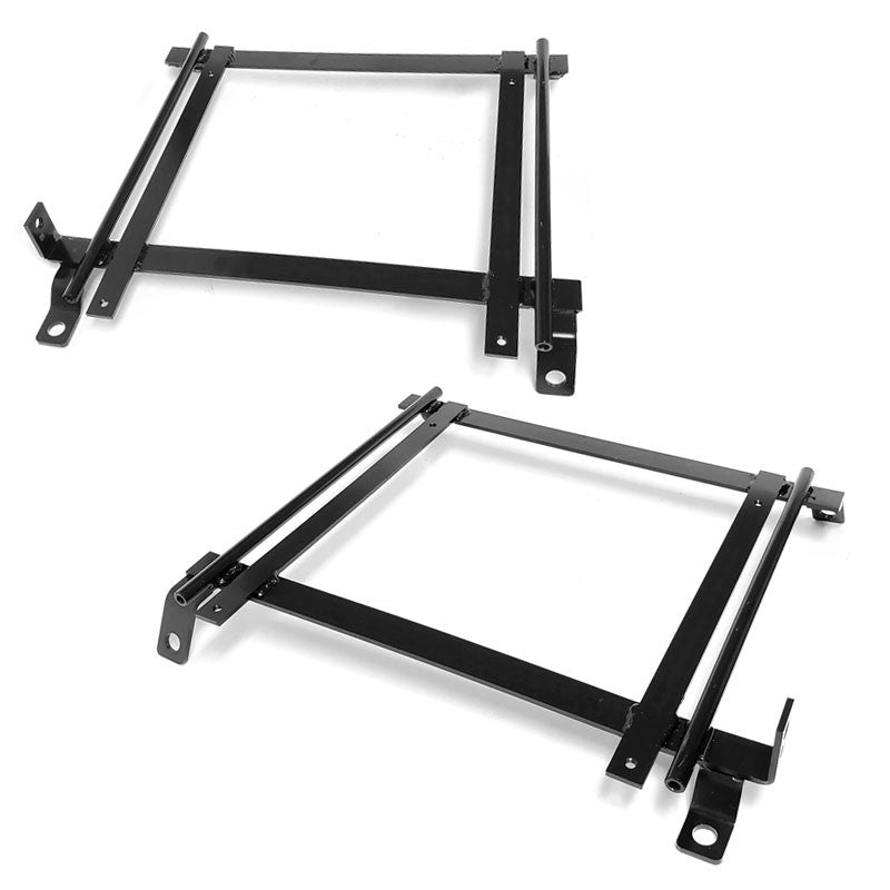 2x Mild Steel Racing Seat Base Mounting Bracket For 92-95 Honda Civic EG/EH/EJ-Seats & Components-BuildFastCar