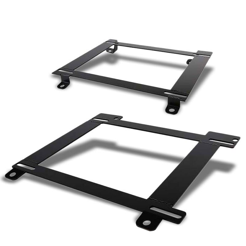 2x Steel Bucket Racing Seat Low Mounting Bracket For Chevy 93-02 Camaro/FireBird-Seats-BuildFastCar