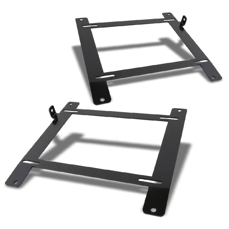 2x Steel Racing Seat Low Mounting Bracket For Subaru 13-16 BRZ 2.0L/FR-S GT86-Seats-BuildFastCar