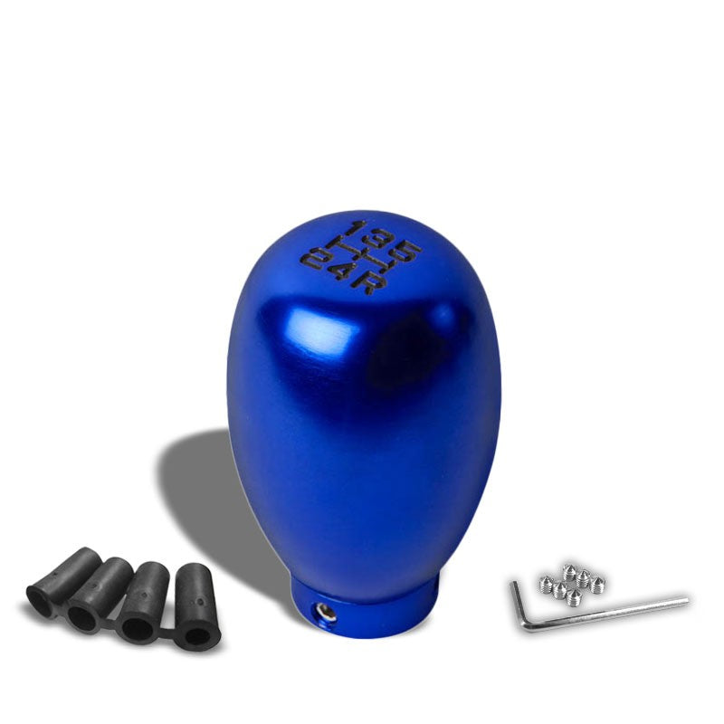 NRG Innovations Blue Type-R 5-Speed Manual M8 M10 M12 SK-5S-BL-BK Shift Knob