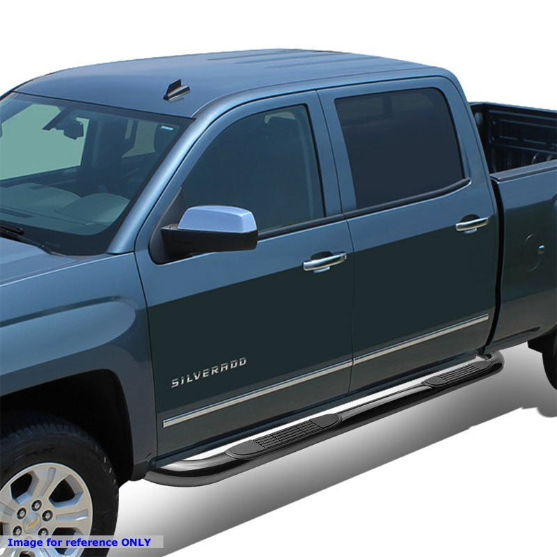 "Black 45 Degree Bend 3"" Wide Step Running Board For 05-16 Frontier Extended Cab-Running Boards/Steps-BuildFastCar"
