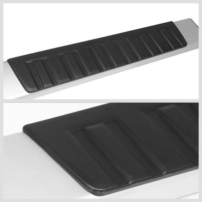 "Silver OE 6"" Wide Step Running Board For 07-18 Toyota Tundra Crew/Double Cab-Running Boards/Steps-BuildFastCar"