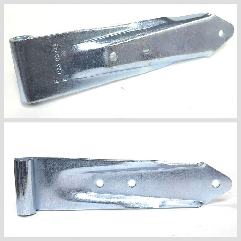 "Utility Style 3-Hole 3"" x 12"" Door Hinge Semi Commercial Truck Trailer BFC-TTP-HI-SWH-UT04-X4"