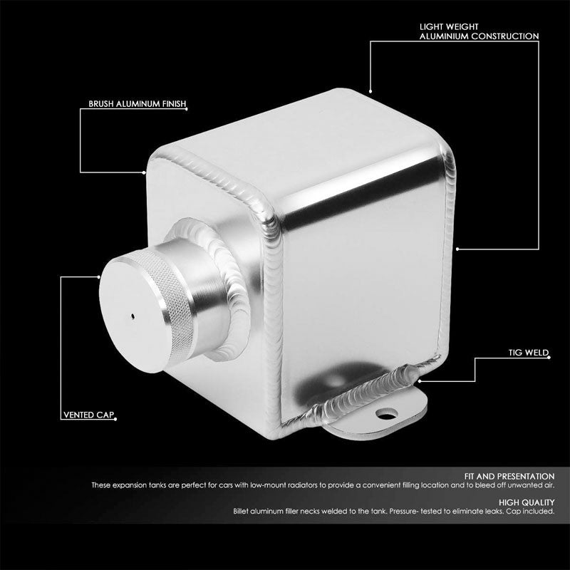 Aluminum Clutch Fluid Tank/Reservoir Can For Manual Transmisson Vehicle-Performance-BuildFastCar