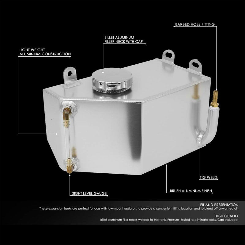 Expansion Coolant Overflow Recovery Tank For 84-96 Chevrolet Corvette 5.7L V8-Performance-BuildFastCar