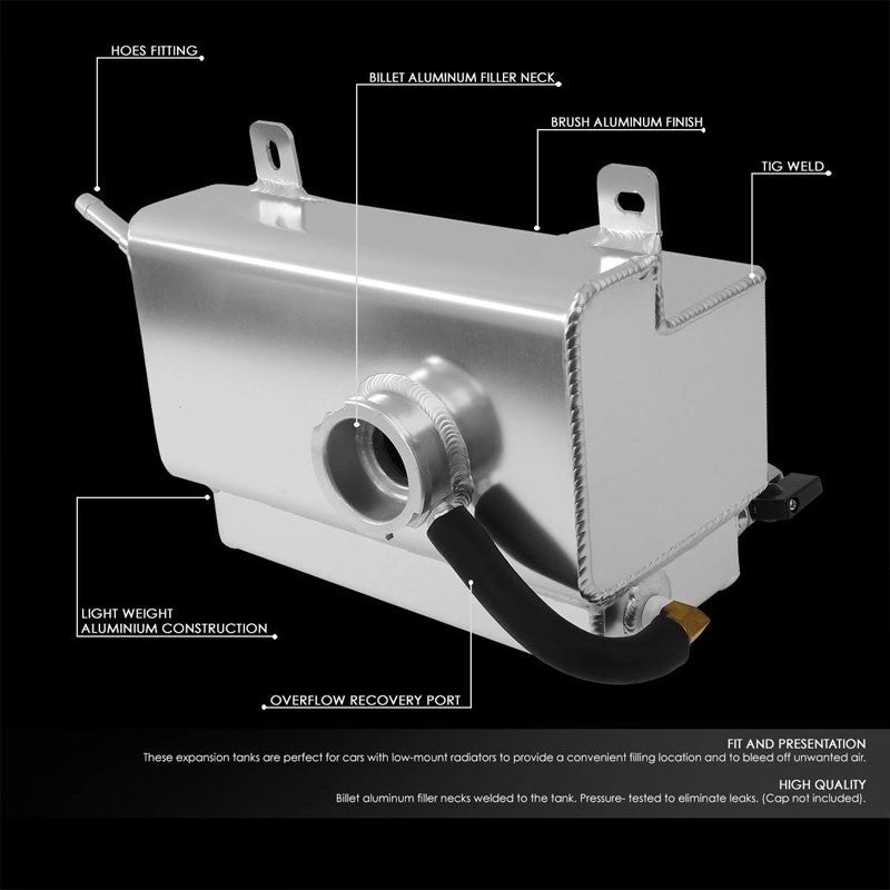 Expansion Coolant Overflow Recovery Tank For 05-10 Ford Mustang 4.0L/4.6L V6/V8-Performance-BuildFastCar