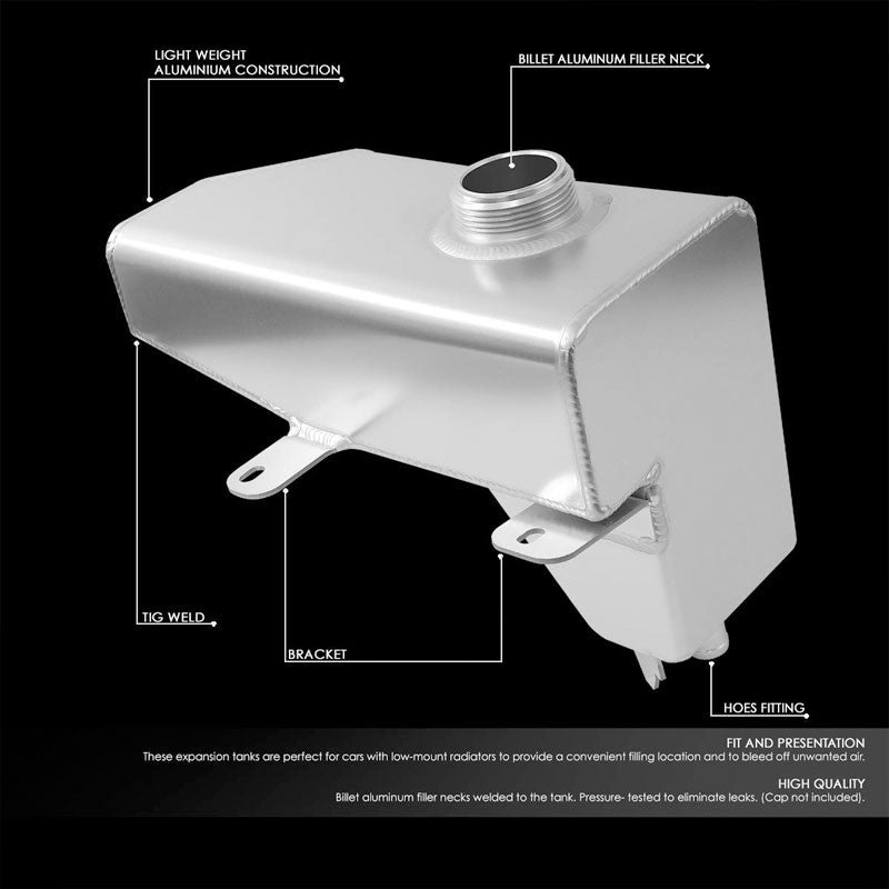 Expansion Coolant Overflow Recovery Tank For 10-13 Mustang 4.6L/5.0L SOHC/DOHC-Performance-BuildFastCar