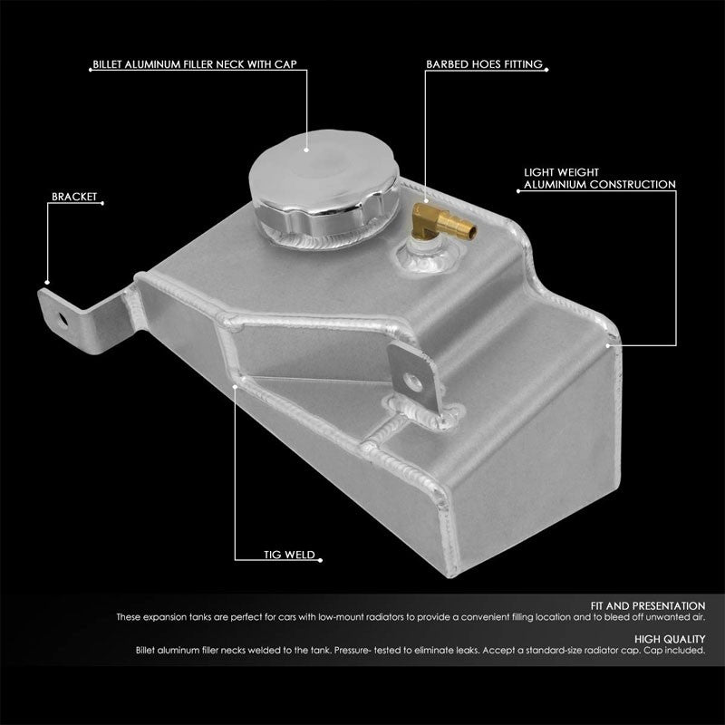 Expansion Coolant Overflow Recovery Tank For 90-97 Mazda Miata 1.6L/1.8L DOHC-Performance-BuildFastCar